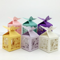 anti butterfly - wedding gift boxes wedding boxes butterfly gift boxes wedding party birthday party decorations candy box x5x7cm