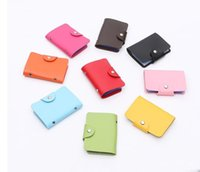 Wholesale 10pcs set ID Card Holders Passport Cover Credit Card Case Card Box Travel Car covers Porte Carte Wallet for Credit Cards