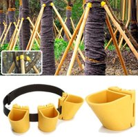 Manual best choice protection - Gardening TPR Fruit Tree Fixation Support Tool Plant Windbreak Protection Binding Holder Kit Your Best Choice
