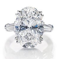 baguette engagement ring - 3 CARAT GIA Certified VVS1 Oval with Tapered Baguette Diamond Engagement Ring