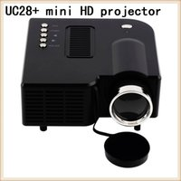 apple mini projector - MINI Multimedia LED HD projector UC28 Home Theater Portable For Android Apple computer HD projector