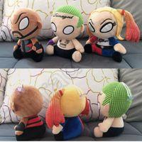 big game design - Suicide Squad Plush Doll cm Joker Deadshot Harley Quinn Figure Toy Movie Stuffed Doll Kids Christmas Gift designs OOA959