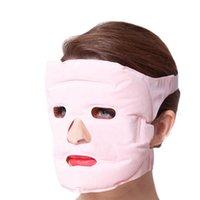beauty points - Tourmaline Gel Face Lift Mask Facial Beauty Mask Point Massager Cold and Hot Compress Whitening Anti Wrinkle Reduce Swelling Ease Pain