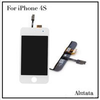 assembly stables - AAA LCD For Iphone S LCD digitizer touch screen Digital assembly no dead pixel Hight stable display DHL