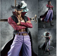 Wholesale New Brinquedos One Piece Dracula Mihawk Hawkeye The Sword Pvc Action Figure Model Toys Gift SWISSANT