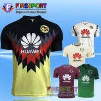 best club soccer jerseys - 2017 Best Quality Mexico New Club America soccer Jerseys D BENEDETTO Home Yellow Retro home SAMBUEZA P AGUILAR football shirt