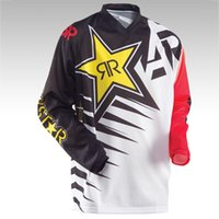 Wholesale 2016 ANSWER Rock Star Moto Jersey MX MTB Off Road Mountain Bike DH Bicycle Jersey DH BMX Motocross jersey styles