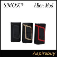 alien yellow - SMOK Alien Kit Smok Alien Mod with ML TFV8 Baby Tank TCR Mode Dual Battery Large Air Chamber with Four Alternate Coils Original