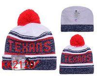 bamboo houston - Texans Beanies Team Hat football Houston Winter Caps Popular Beanie women men Caps Skull Caps Best Quality Sports Caps Allow Mix Order