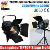 apollo bulbs - TIPTOP APOLLO WFL ZOOMING White k Film Television Professional Barndoor COB Led Lamp Germany Made Fresnel Lens Equipped