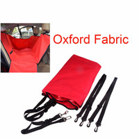 big cat pet supply - big size High Quality Waterproof Oxford Fabric Pet Car Seat Cover Dog Supplies Cat Safe Safety Travel Hammock Mat Blanket