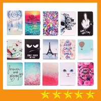 For Apple air eyes - Black Eye Don t Touch My Pad Dreamcatcher Wind Chimes Effile PU Leather Case for ipad mini23 mini4 Air