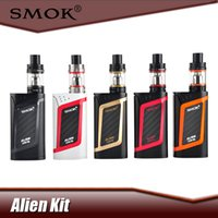Wholesale 100 Original Smok Alien Kit Alien W Box Mod with ml TFV8 Baby Tank Electronic Cigarette Vape Kit