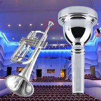 Wholesale Bengear Silver Big Handle Beginer Alto Trombone Mouthpiece AL For Bach