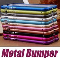 aluminum iphone bumper - Aluminum Metal Bumper Frame Ultra Thin Hard Slim Case For iPhone Plus iPhone S Plus SE S Samsung S6 S5 S4 Note