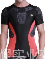armor personal - Basketball breathable quick dry sweat T shirt personal protective clothing wear armor anti collision flexibility durable and comfortable