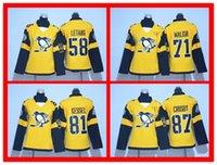 Wholesale Hot Sell Stadium Series Pittsburgh Penguins Sidney Crosby Evgeni Malkin Kris Letang Kessel Gold Women s Hockey Jersey