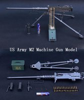Wholesale US Army M2 Machine Gun Model Model With Removable Holder Military Fans Collection Fantastic Military Toy Plastic Decoration