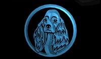 Precio de Perros perro de aguas-LS1651-b-Cocker-Spaniel-Perro-NUEVO-Pet-Shop-Neon-Light-Sign.jpg