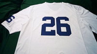 Wholesale Men No name Replica Navy White Penn State Nittany Lions Alumni Football jersey