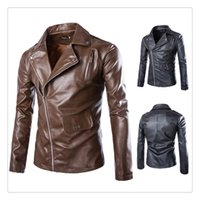 Where to Buy Men Leather Jacket Korean Style Online? Where Can I ...