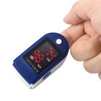 Wholesale Neweset Digital finger oximeter LED pulse oximeter display pulsioximetro oximetro oximeter a finger pulse clip