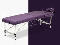 Wholesale High Quality Aluminum Relaxing Table Health Promote Circulation Massage Table With Carry Bag and Face Pillow