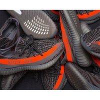 Wholesale Originals Y Boost V2 Kanye West Men Women Shoes Solar Grey Beluga Black White Grey Orange Stripe BB1826 Sneakers Sports shoes