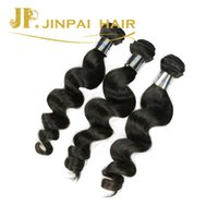 Cheveux coupe les filles Prix-JP Hair Long Durant Peruvian Human Hair Weave Cut From Young Girl Smooth Loose Wave