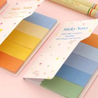 Wholesale 10 sets DIY Colorful Cute Memo Pad Sticky Note Paper Sticker Pads Post It Note Creative School Stationery Papelaria
