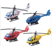 Wholesale 2017 Christmas Baby Gifts Toys Toy helicopter Alloy Plastic Colors Available Baby Helicopter
