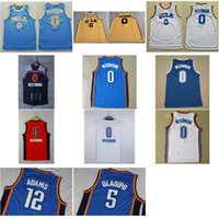 Men adams shirt - Mens Russell Westbrook Oladipo Adams Swingman Jerseys UCLA Bruins College Stitched Basketball Jersey Shirt Shorts New Material Rev30
