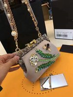 beautiful evening bags - 2017 spring new fashion top quality women super beautiful rhinestone luxury shoulder bag female party evening small bag