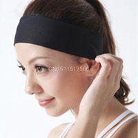 Wholesale Women Girls hair Band Best for yoga sports Polyester women elastic headbands Wear Yoga Decoration hair accessories CS