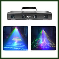 beam homes - Professional Dj Bar lights mw RGBY Lens Laser Beam Stage Lighting Sound Activated Auto Strobe