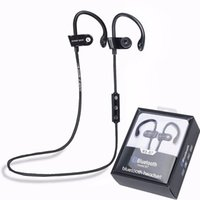 Wholesale MS B7 Sport Bluetooth Wireless Stereo Headset Earphone Headphone Running Ear Hook Handsfree with Mic for for iPhone Samsung Smartphone