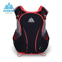 Wholesale AONIJIE L Women Men Marathon Hydration Vest Pack for L Water Bag Cycling Hiking Bag Outdoor Sport Running Backpack