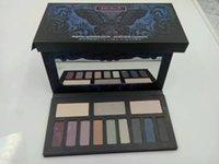Wholesale 12 Shades Eyeshadow Palette Brand Makeup Kat Eyeshadow Highlighter Types Eyeshadow Palettes DHL Free Ship