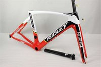 Wholesale The latest Red White design RIDLEY carbon bike frames with K T1100 BB30 BB68 PF30 ridley road bike carbon frameset