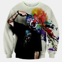 Wholesale The new foreign trade D hoodies male clown personality coat sweater factory direct sales