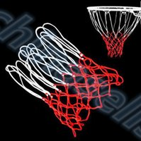 ball backboard - High Quality Durable Standard size Nylon Thread Sports Basketball Hoop Mesh Net Backboard Rim Ball Pum