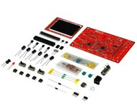 Wholesale Digital Oscilloscope DIY Kit DIY Parts for osciloscopio Making Pocket size Handheld Electronic Learning Set