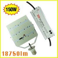 La luz del retrofit del estacionamiento del pabellón del LED 200-500VAC 150W LED substituye la bahía alta E39 480volt 4pcs / lot de la caja de zapato del haluro del metal 1000W