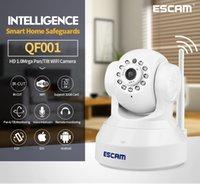 best ip cctv - Best Selling Factory ESCAM QF001 OEM p Surveilance Camera CCTV full HD Smart Home Wifi IP Camera