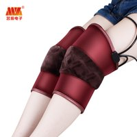 Wholesale Far infrared Knee physiotherapy Photon therapy Massager Magnetic Vibration Electric heating kneepad Knee massagers