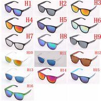 Gafas de sol de los deportes de los hombres de Sunglass de la manera Gafas de sol de las mujeres de la marca de fábrica del diseñador de la manera con las cajas y el paño de retal
