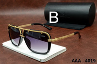 Wholesale Cazal Sunglasses Eyewear Luxury Polarized Vintage Mens Womens Aviator Sun glasses Brand Designer Oversized Big Frame sunglass