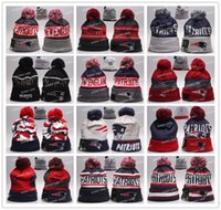Cheap Wholesale Patriots Beanies Winter High Quality Beanie For Men New England American Football Women Skull Caps On Field Skullies Knit Caps