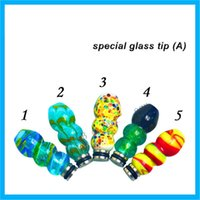 Wholesale Hottest Drip Tips colour special glass tip for Ego Atomizer Ego Battery mouthpiece output valtage v