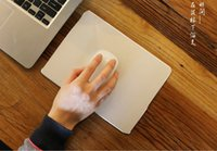 Wholesale 2016newest Top grade Alloy mouse pad for Apple Mac book durable and with CNC Technology well polished edges fashionable Mouse mat